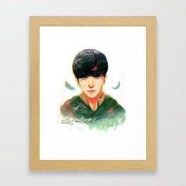 Corporal Zitao Framed Art Print