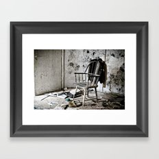 lost jacket Framed Art Print