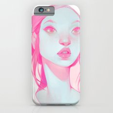 visage - pink iPhone 6 Slim Case
