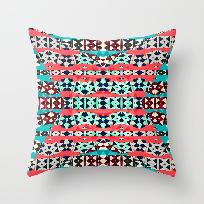 Mix #251 Throw Pillow by ornaart Society6