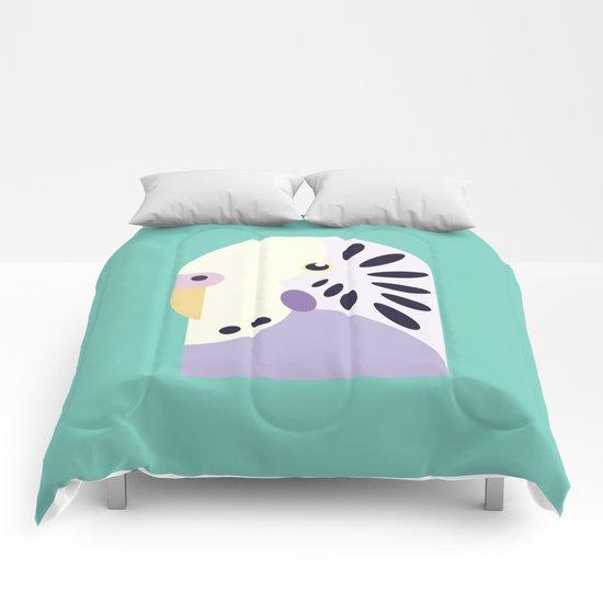 Budgerigar 3 Comforters