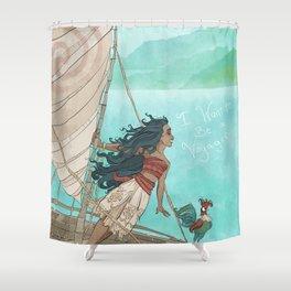 Moana Shower Curtain