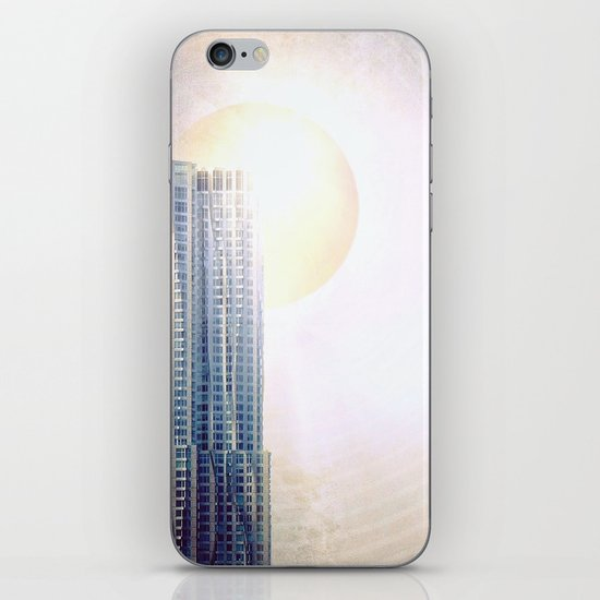 New York by Gehry Illustration iPhone & iPod Skin