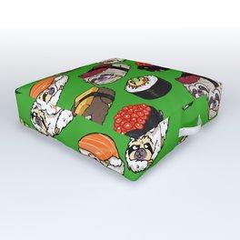 Sushi Sloth Outdoor Floor Cushion