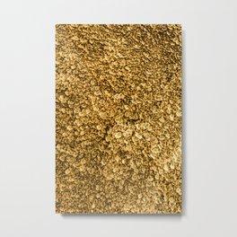 Golden Treasure Metal Print