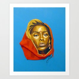 bey:Indian Art Print