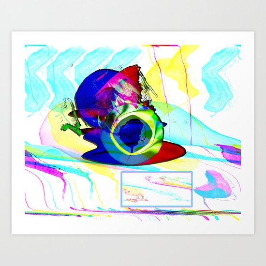 For the ● We Swoon2Soon (collaboration w/ Sally Jeon) Art Print