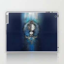 Wings of time - blue Laptop & iPad Skin