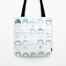 Breaking Bad all Faces Tote Bag
