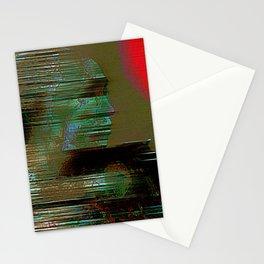 The departure of miyamoto musashi Stationery Cards