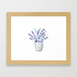 Lavanda 21.2 style Framed Art Print
