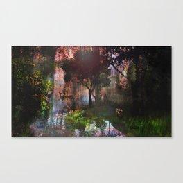 forêt enchantée Canvas Print