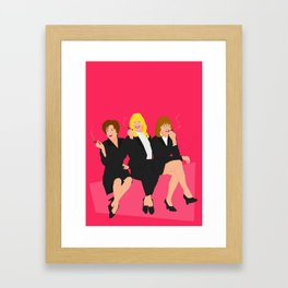 The First Wives  Framed Art Print