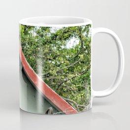 Cap Malheureux, red roof Coffee Mug