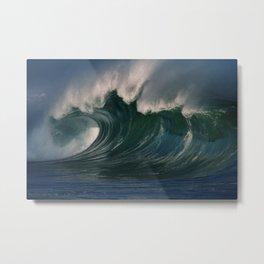 Winter Waves At Waimea Bay 2 Metal Print