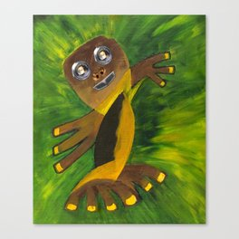 Mr 3 fingers Canvas Print