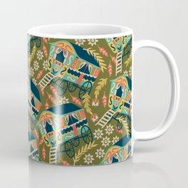 Gypsy Wagon Pattern Coffee Mug
