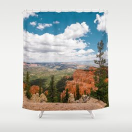 The Black Birch Canyon at Bryce Canyon National Park Shower Curtain