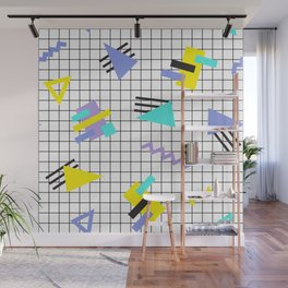 Memphis pattern 6 Wall Mural