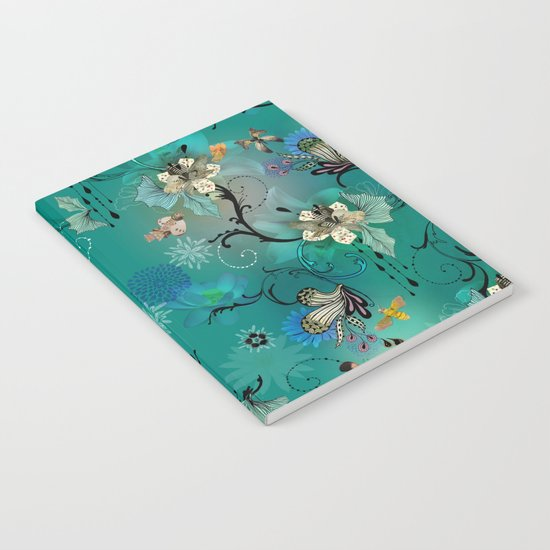 The Butterflies & The Bees  Notebook