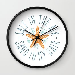 074 Salt in the Air Wall Clock