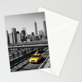 New York City Yellow Cab, NYC Taxi Stationery Cards