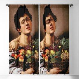"Michelangelo Merisi da Caravaggio ""Boy with a Basket of Fruit"" 1593–1594 Blackout Curtain"