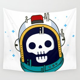 Space Death Wall Tapestry