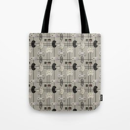 Paper Cut-Out Video Game Controllers Tote Bag