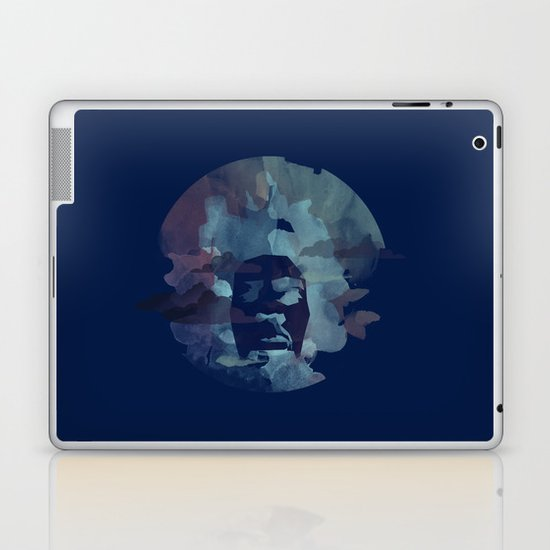 Black Power Laptop & iPad Skin