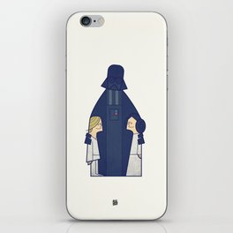 May the Love be with you iPhone Skin