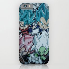 character dbz,dbs iPhone Case