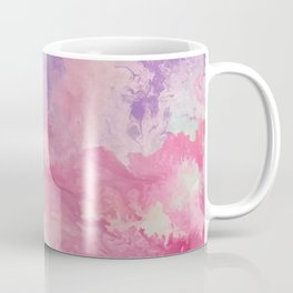 In between loves | Boho | Fluid Art | Pink Coffee Mug