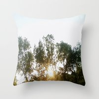 chill Throw Pillows featuring Chill by stefani187