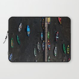 Colors of a low tide Laptop Sleeve