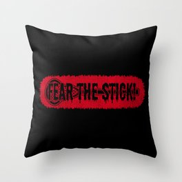 Fear The Stick - Funny Lacrosse Quotes Gift Throw Pillow