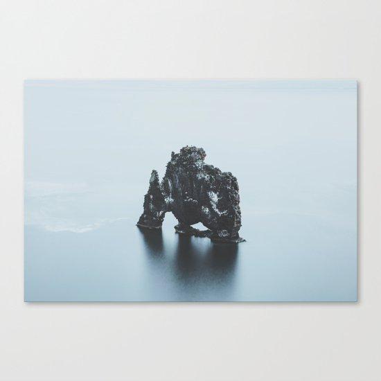 Hvitserkur, Iceland Canvas Print
