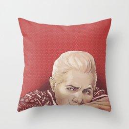 xmas!Cullen Throw Pillow