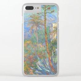 "Claude Monet ""Villas at Bordighera"" Clear iPhone Case"