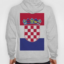 Croatia flag emblem Hoody