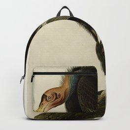 Vintage Bird Print - Birds of America - 426 Californian Vulture (1838) Backpack