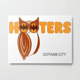 Hooters Gotham City Metal Print
