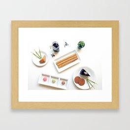International Dessert Party Framed Art Print