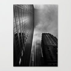 Downtown Toronto Fogfest No 4 Canvas Print