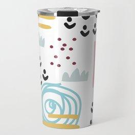 Abstract art Travel Mug