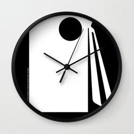 SECRET BROADCAST Transistor Radio Wall Clock