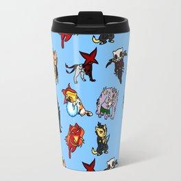 Geeky Cats Travel Mug