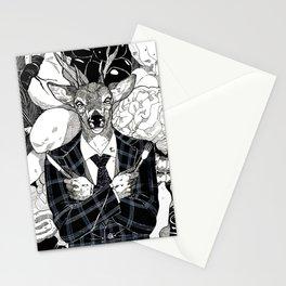 The Cryptids - Wendigo Stationery Cards