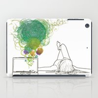 record iPad Cases featuring Record Playing by MaryMulberry