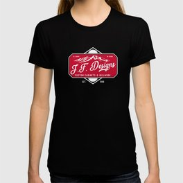 JF Designs Custom Cabinets & Millwork T-shirt